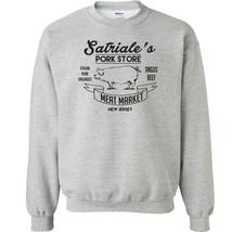 224 Satriales Crew Sweatshirt pork store mob boss sopranos vintage tony ... - $20.00+