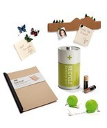 Eco Set  Lot 5 Design Gifts Pushpin Battery Box Clip Paper Snail Tape Me... - $98.00