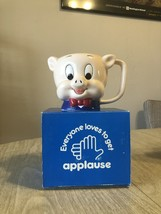 Ceramic Applause Looney Tunes Porky Pig Mug - $30.00