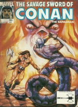 Savage Sword of Conan the Barbarian 180 Marvel Comic Book Magazine Dec 1990 - $1.99