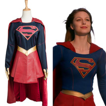 Supergirl Kara Zor-El Danvers Halloween Outfit Adult COSplay Costume Suit Dress - $48.00+