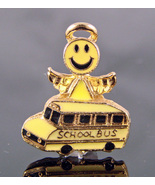 Smiley School Bus Angel Pin - $2.99