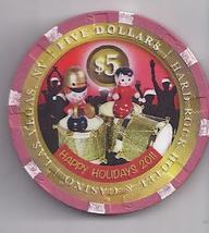 $5 Hard Rock Hotel Vegas Casino Chip Happy New Year 2011 - $7.95