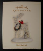 Hallmark Keepsake Christmas Ornament 2006 Deer Friend Metal Edythe Kegri... - $7.99