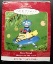 Hallmark Keepsake Christmas Ornament 2001 Robot Parade Second in Series ... - $6.99