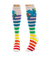 My Little Pony Rainbow Dash Stripe Knee Socks KH-0MW5LPT NEW! - $19.99