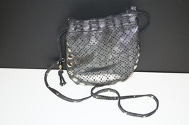CANDIE'S Metallic Cut-Out Pattern Satchel/Hobo ... - $11.07