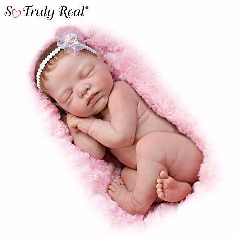 #301864001 *Lifelike Newborn Bundle Of Love Baby Doll*