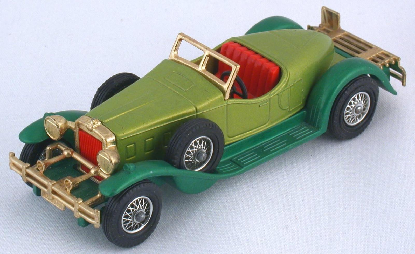 Stutz Bearcat 1931 Matchbox Made In England By Lesney Nr 11 Nutz- & Transportfahrzeuge