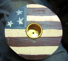 Candle Holder Pair Flag - $8.04