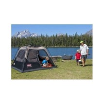 4 Person Instant Tent Quick Pop Up Cabin Vented Rainfly Camping Hiking Fishing - $207.89
