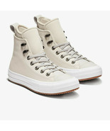 Converse Women's CTAS WP Boot Hi Leather 557944C Pale Putty/White NWB - $54.98