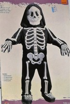 Fun World Skelebones Toddler Size Small 3T-4T Halloween Costume No Mask ... - $6.95
