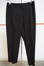 LIZ CLAIBORNE LIZ SPORT Black Cotton Blend Mich... - $12.22