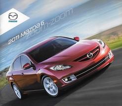 2011 Mazda 6 MAZDA6 sales brochure catalog 11 US i s  - $6.00