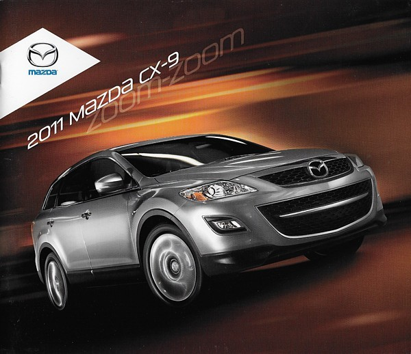 Primary image for 2011 Mazda CX-9 sales brochure catalog 11 US Sport Grand Touring