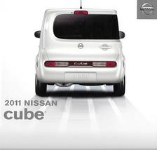 2011 Nissan CUBE sales brochure catalog US 11 1.8 S SL Krom - $8.00