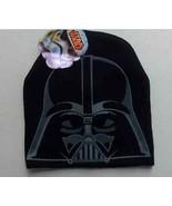 Darth Vader Beanie Hat Star Wars Stylish Warm One Size Comfort Design Fa... - $17.40