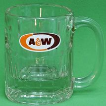 Vintage Short But Solid A & W Glass Root Beer Mug - $1.95