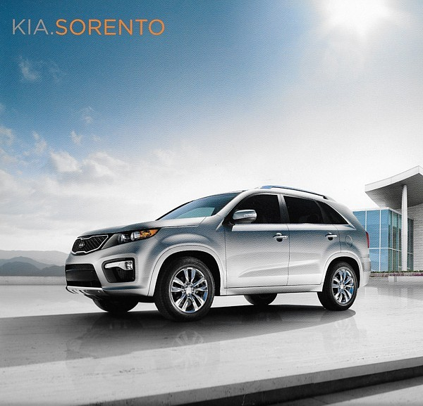 Primary image for 2011 Kia SORENTO sales brochure catalog 2nd Edition 11 US LX EX SX