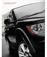 2011 Dodge JOURNEY brochure catalog 1st Edition US 11 Express Crew Lux  - $6.00