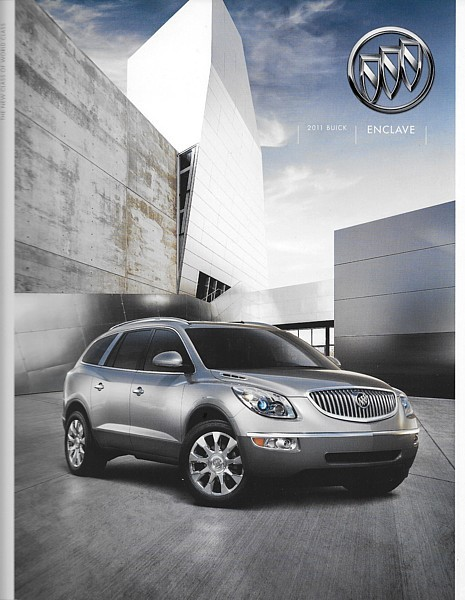 Primary image for 2011 Buick ENCLAVE sales brochure catalog US 11 CX CXL
