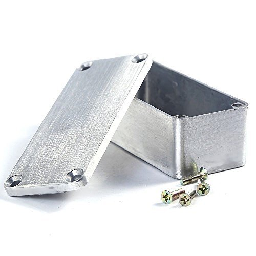 Primary image for E Support 1590A 92x38x31mm Aluminum Metal Stomp Box Case Enclosure Guitar Eff...