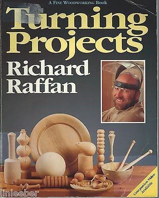 Primary image for TURNING PROJECTS by Richard Raffan;Fine Woodworking/23 Woodturning PROJECTS;1990