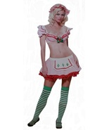 Leg Avenue Size S/M (4-10) Womens Strawberry Tart Costume (4 Piece Set) - $29.99