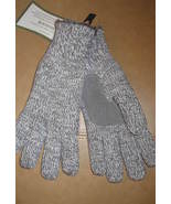 Women's Gloves Isotoner Gray One Size Fits Most New - $24.99