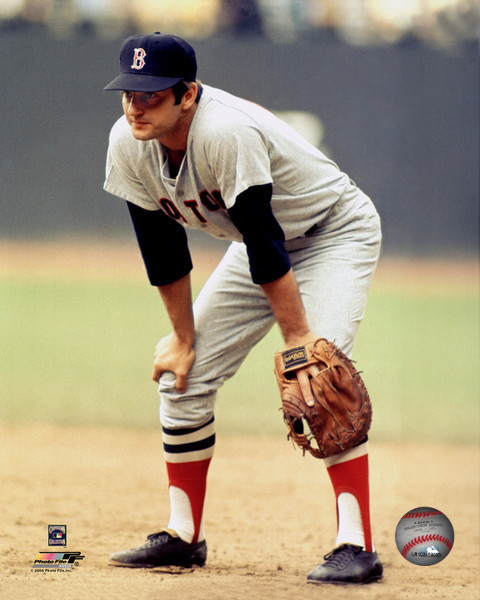 Primary image for Carl Yastrzemski F Boston Red Sox Vintage 8X10 Color Basebal Memorabilia Photo
