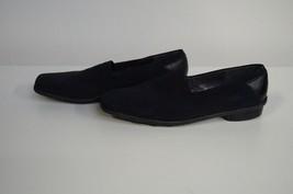 STUART WEITZMAN Black Fabric Square Toe Rubber ... - $35.63