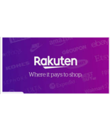 SIGN UP WITH RAKUTEN FREE AND RECEIVE $10 GET 2.5% CASH BACK ON ITEMS ON... - $0.00