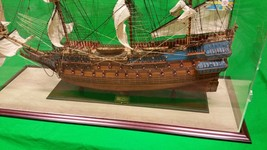 47 x 15 x 38 Inch Acrylic Table Top Display Case Kit for Tall Model Ships - $694.40