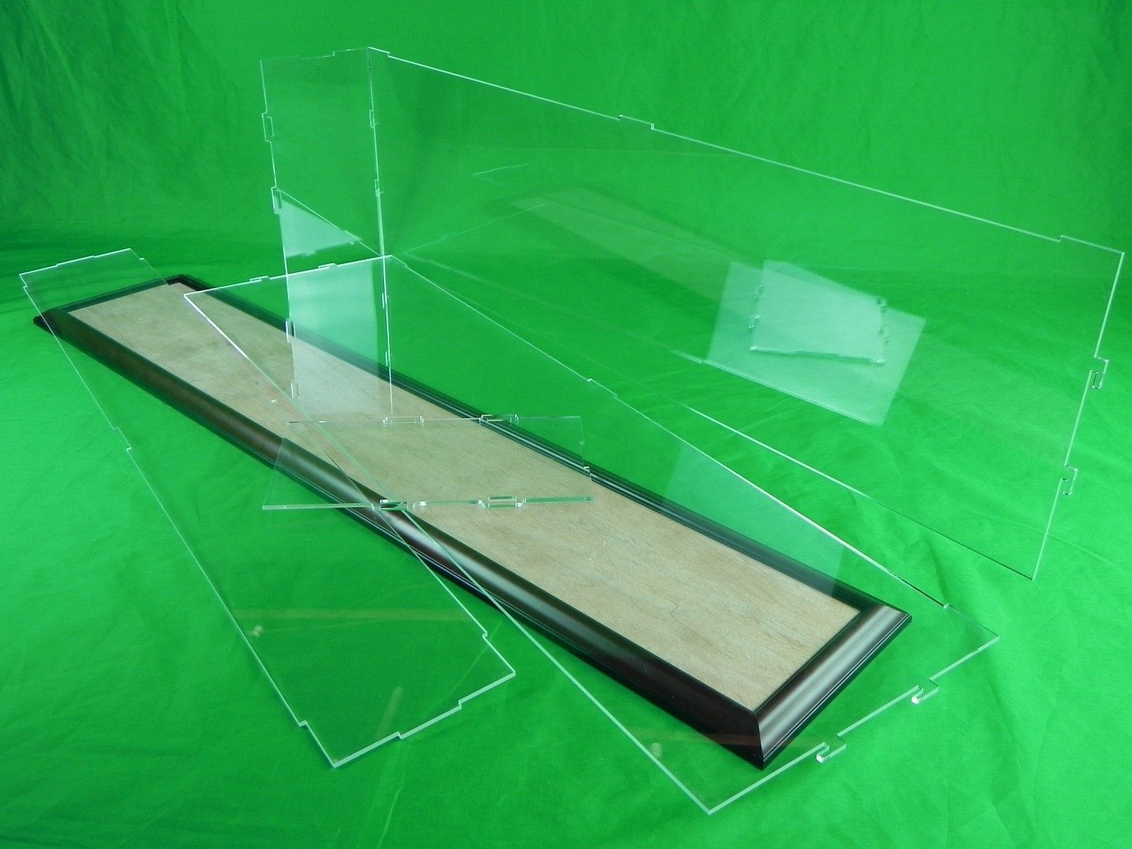 Acrylic Box Table : Inch acrylic table top display case kit for