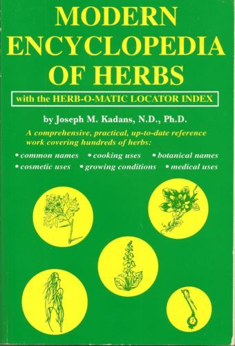 Primary image for Modern Encyclopedia of Herbs, With the Herb-O-Matic Locator Index [Jan 01, 1973]