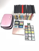 Nintendo DS Lite USG 001 pink with 33 games charger and cases - $148.49