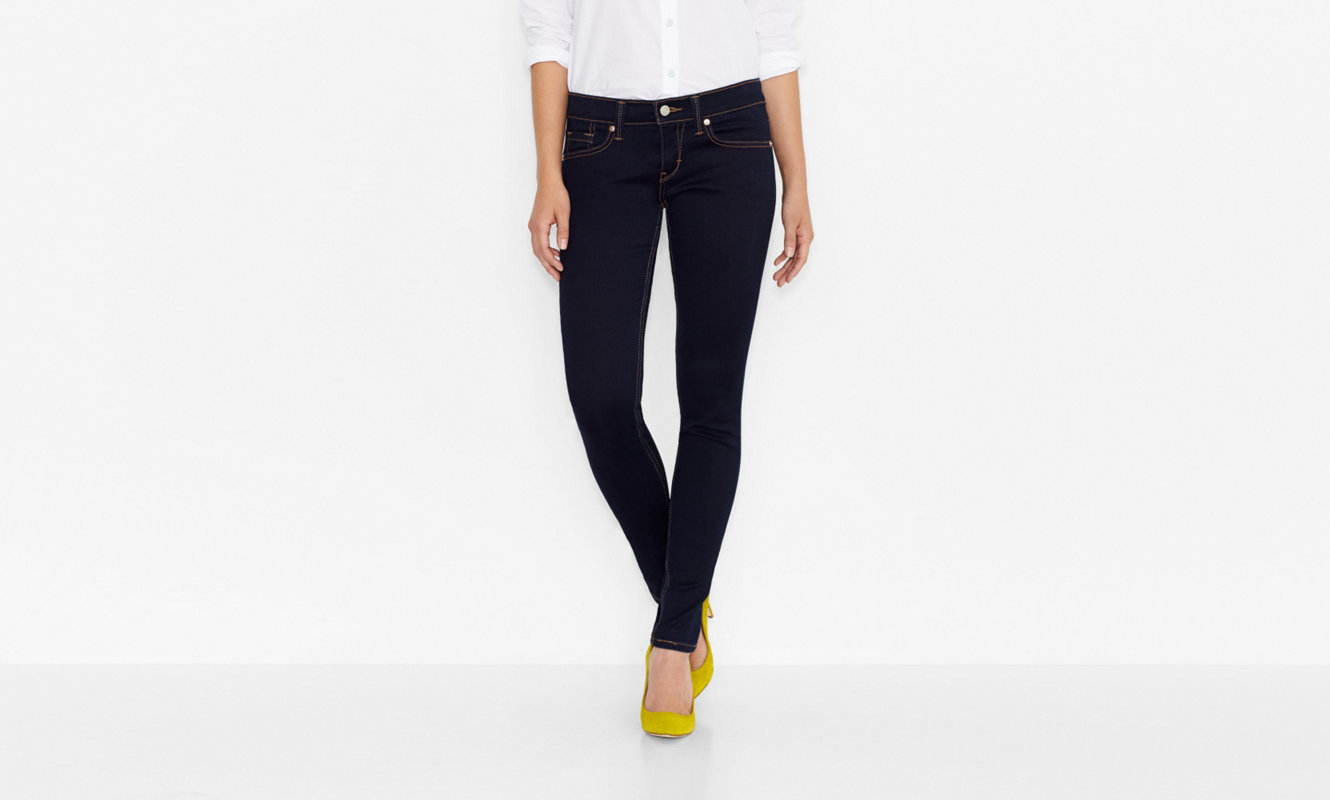 Primary image for Levi's 524 Too Superlow Super Skinny Jeans Dark Wash 3M