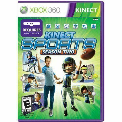 Kinect Sports Season Two (Xbox 360, 2013) Microsoft Studios, Big Park **Read** - $8.90