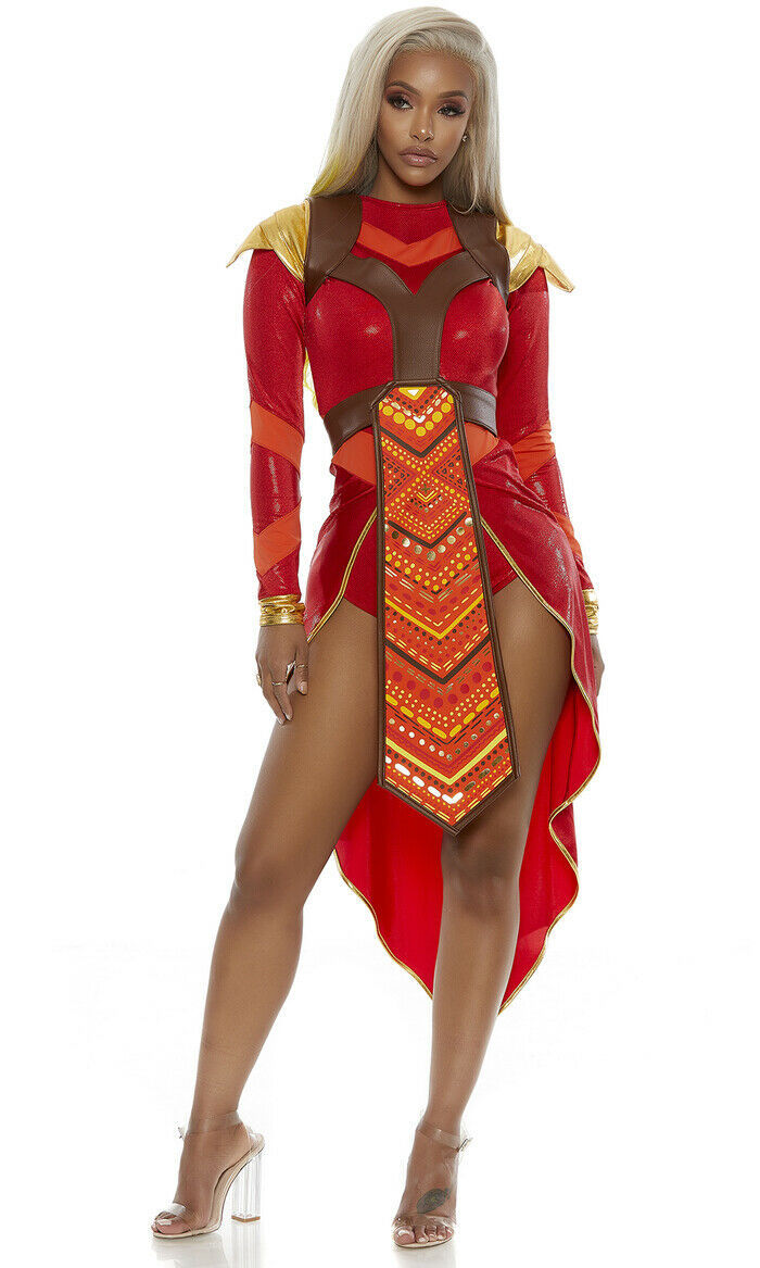 Forplay Wakanda Forever Epic Warrior Sexy Comic Book Halloween Costume 559602