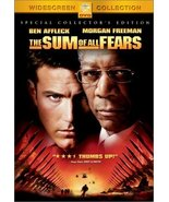 The Sum of All Fears (Special Collector's Edition) [DVD] [2002] - $0.59