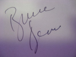 "Bruce Dern Autograph On A 5 1/2"" X 3 1/2"" Postcard Initaled By Photographer - $28.22"