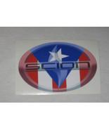 Scion Sticker, Scion Vinyl Sticker, Sticker, Scion, Puerto Rico Sticker - $6.50
