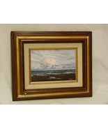 "Original Oil Painting ""Evening Afterglow"" by NC Artist J. Horton - $44.98"