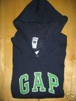 NWT Womens Gap Navy Hoodie Sweatshirt XL XLarge GAP
