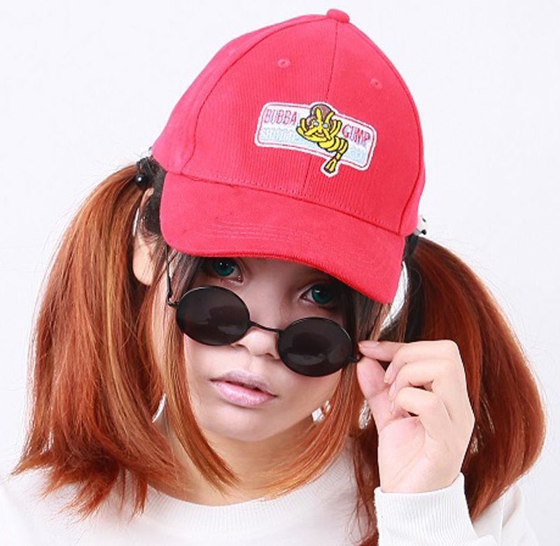Forrest Gump Hat Bubba Gump Shrimp Embroidered Adjustable Baseball Cap for Adult