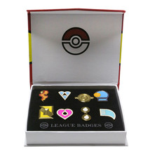 Xcoser 8 pcs Pokemon Gym Badges Sets Kanto Gen 1 & 2 & 3 Badges For Coll... - $28.99 CAD
