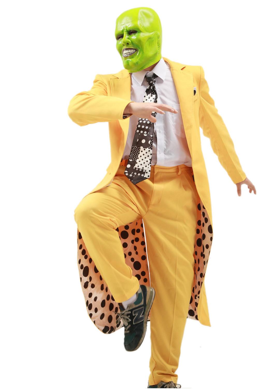 XCOSER Jim Carrey Costume The Mask Jim and 16 similar items