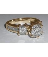 4.51 ct. diamantes anillo de compromiso de diam... - $8,127.35