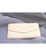Clutch Purse Satin And Sequin AB  - $19.97